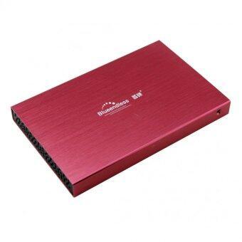 KS HDD BOX 2.5 รุ่นLX25 hdd usb2.0 (สีแดง)