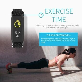 L38i Color-Fullscreen Smartband Dynamic Bluetooth Heart Rate SmartBracelet for Ios And Android - intl - 5