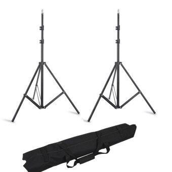 Lands 2 Pieces 195cm Tripod Light Stand Photo Video Studio Lightingwith Carrying Bag - intl