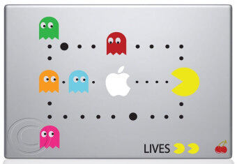Harga Leegoal Colorful Pac Man Scene Decal Skin Sticker for Apple MacbookMac - intl