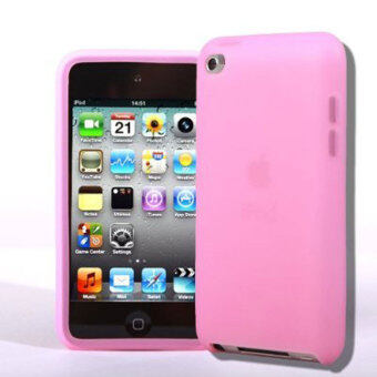 Leegoal Pink Soft Silicone Gel Case Cover for Apple iPod Touch 4th Generation 4G 4 - intl