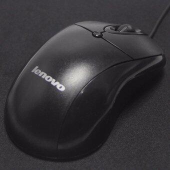 ซื้อ/ขาย Lenovo Optical Mouse USB LX-02 (สีดำ)
