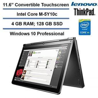 Lenovo Thinkpad Yoga 11.6 Convertible HD IPS Touchscreen Laptop,Intel Core M-5Y10C up to 2GHz, 4GB RAM, 128GB SSD, HDMI, Bluetooth,802.11ac, HD Webcam, Windows 10 Professional