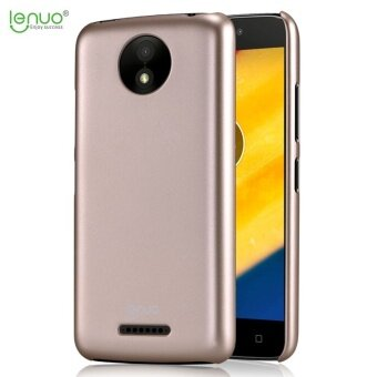 Lenuo Fashion PC Hard Plastic cover case for Motorola MOTO C Plus mobile phone shell cases - intl