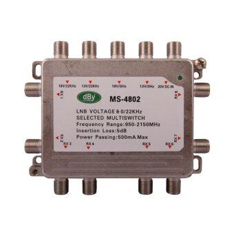 Leotech Multiswitch รุ่น4x8 (Silver)