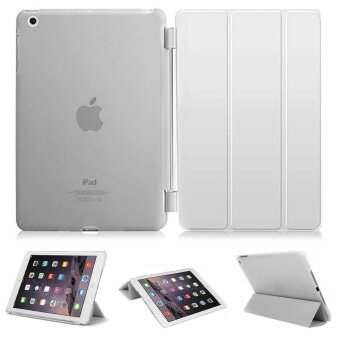Librarycase case cool cool เคสไอแพด 2/3/4 รุ่น Magnetic Smart Cover and Translucent Hard Back Case for Apple iPad 2/3/4 Case