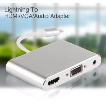 Lighting to HDMI/VGA/Audio Adapter