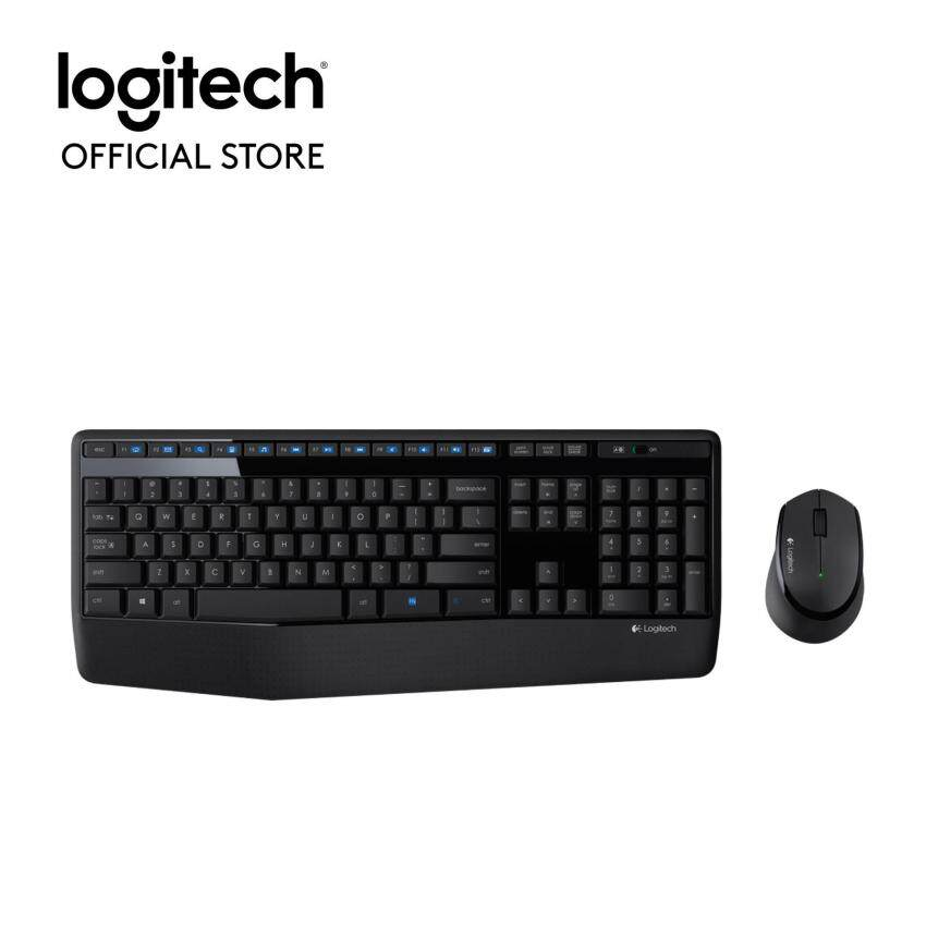 Logitech Wireless Combo MK345 - TH pad(Black)