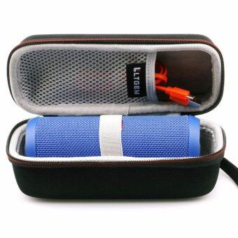 LTGEM Portable EVA Hard Storage Case for JBL Flip 3 or JBL Flip 4 Bluetooth Speaker with USB Cable and accessories - intl