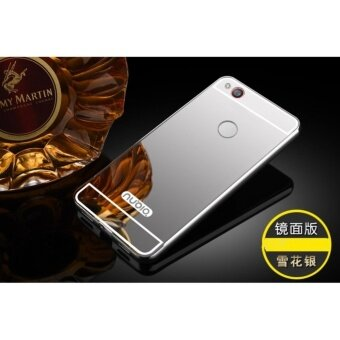 Luxury Metal Frame And Mirror PC Back Cover Case For ZTE Nubia Z11 Minis - intl