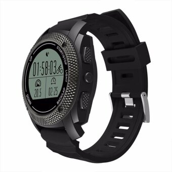 Makibes G02 Smart Sport Watch Heart Rate MonitorPressure/Temperature Measurement Outdoor GPS Fitness Tracker - intl