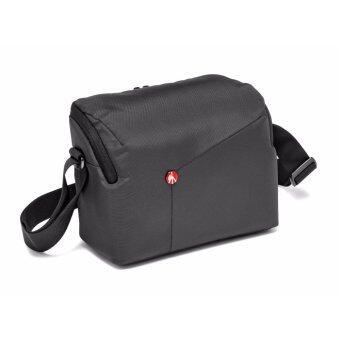 รีวิวพันทิป Manfrotto NX camera shoulder bag II Grey for DSLRกระเป๋าสะพายไหล่สะพายข้างกล้องDSLRกระเป๋าสะพายไหล่สะพายข้างกล้องดีเอสแอลอาร์