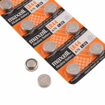Maxell LR44 1.5v 2 packs contain 20 batteries
