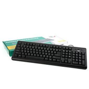 ประเทศไทย MD-TECH USB Keyboard (KB-889) Black