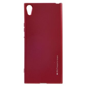 MERCURY GOOSPERY i JELLY Metallic TPU Mobile Casing for Sony XperiaXA1 Ultra - Red - intl