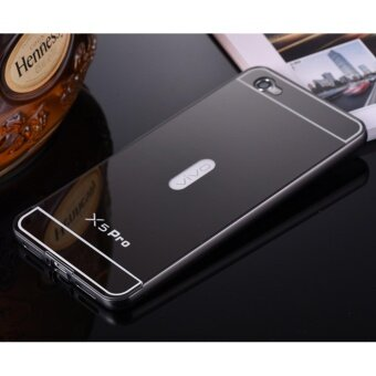 Metal Bumper and Mirror PC Back Cover Case For Vivo X5 Pro - intl