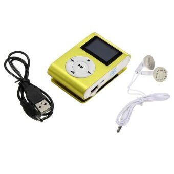 Metal Clip Digital MP3 Player LCD Screen for 2/4/8/16GB TF