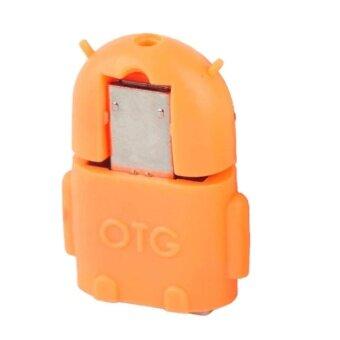 Micro OTG Android สำหรับมือถือ และแท็บเล็ต (Orange )