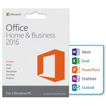 Microsoft ซอฟต์แวร์ Microsoft Office Home & Student Eng 32/64bit 2016