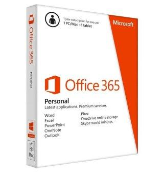 MICROSOFT OFFICE 365 PERSONAL 32/64BIT ENGLISH 1Y