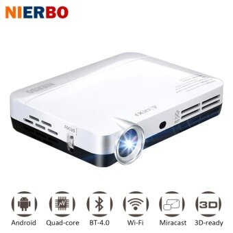Mini 3D Projector MAX500 1080P Full HD DLP Smart Android WirelessProjectors Multimedia Video LED Pocket Projector - intl