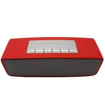 Mini Speaker รุ่น S2025 ลำโพงบลูทูธ บลูทูธ เสียงดี เบสดังแน่น(สีแดง)