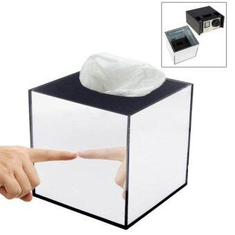 Mirror Box Fashion Safety Hidden Tissue Box For GoPro SportsCameras DV Home Security - intl