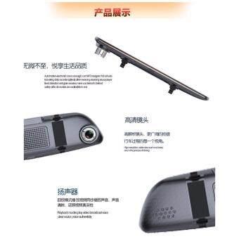 MIYUOG F30 จอ5นิ้ว IPSกล้องติดรถยนต์แบบกระจกมองหลังพร้อมกล้องติดท้ายรถ car cameras