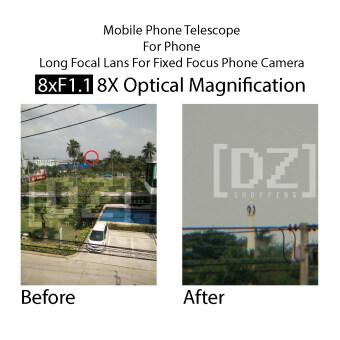 Mobile Telescope คลิปเลนส์มือถือ เลนส์ซูม 8 เท่า (Black) (image 3)