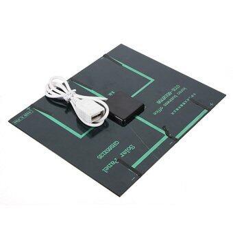 เสนอราคา Moonar 6V 3.5W 580-600mA Solar Panel USB Solar Battery Charger for Mobile Phone MP3 MP4 PDA