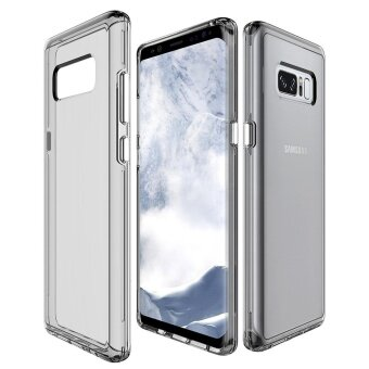 MOONCASE for Samsung Galaxy Note 8 case Anti Shock Transparent BackShell Soft Thin TPU Case Cover (As Shown) - intl