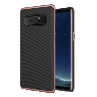 MOONCASE for Samsung Galaxy Note 8 case [Shock Absorption] BumperAir Cushion Protective Slim Flexible TPU Case Cover (As Shown) -intl