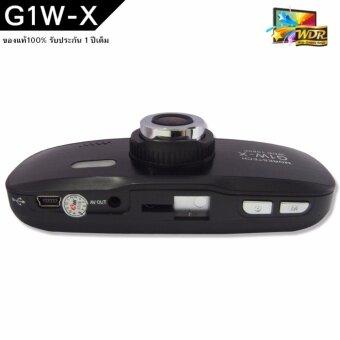 Morestech กล้องติดรถยนต์ DVR G1W NT96650 Full HD - Black (ฟรี ขายึดกับก้านกระจกมองหลัง) (image 2)