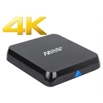 MXQ M8S+(PLUS) Super Android TV Box Quad Core Support 3D-4K High Performance Speed Kodi 14.2 WiFi Bluetooth Remote Control Smart IPTV