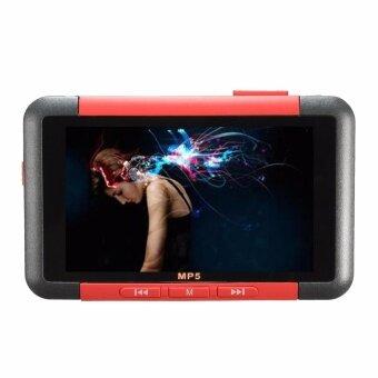 """สวัสดีครับ New 8GB 3 Slim LCD Screen MP4 MP5 Video Music Media Player FM Radio Recorder red – intl"""""""