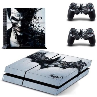 Harga New Batman Decal PS4 Skin Sticker For Sony Playstation 4 PS4 Console protection film and 2Pcs Controller Protective skins - intl