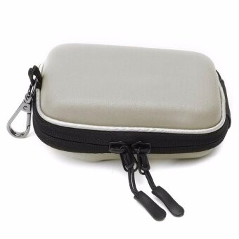 New Digital Camera Bag Case for Canon G9X G7X G7XII SX720 SX710 SX700 N100 SX280 SX275 SX260 SX240 A4000 A95 with Carabiner White - intl