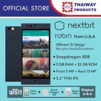 Nextbit Robin 32GB (Midnight) แถมฟรี Premium set ( Adapter QC2.0 , Glass Protector Film and Clear Case )