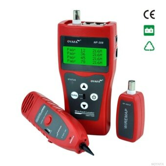 NF-308 Multipurpose Network Cable Tester Tracker Tracer Test Ethernet RJ45 RJ11 - intl