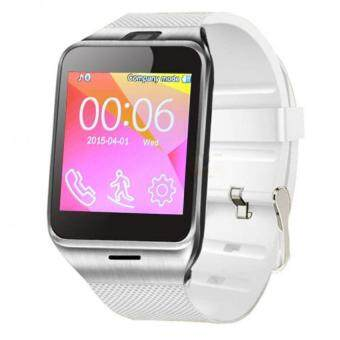 NFC Aplus Smart Bluetooth Watch with Camera Bluetooth WristWatchSIM Card Smartwatch Color White