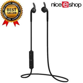 niceEshop Wireless Bluetooth 4.1 Stereo Earphone Headphone With Mic(Black)