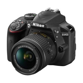 Nikon D3400 Black 18-55 VR II KIT (ประกันศูนย์)