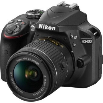 Nikon D3400 Digital SLR Camera + AF-P 18-55mm VR Lens Kit
