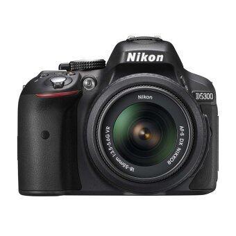 NIKON D5300 BK W/18-55 VR KIT: ซื้อขาย กล้องพร้อมเลนส์ ออนไลน์ในราคาที่ถูกกว่า