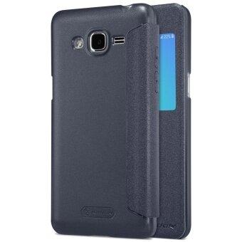 NILLKIN Sparkle View Window Leather Flip Case for Samsung Galaxy J2Prime - Black - intl .