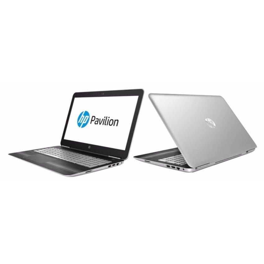 โน็ตบุ๊ค Notebook HP Pavilion15-bc207TX-Silver(i7-7700HQ)1AD38PA#AKL มีโปรแกรมพร้อมใช้งาน