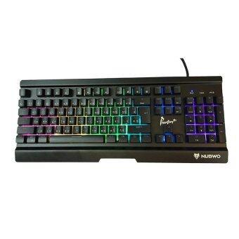 ราคา Nubwo Phantom Metal Gaming keyboard รุ่น NK-55 (สีดำ)