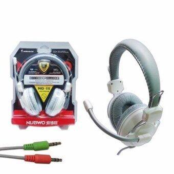 ประเทศไทย NUWBO Headphone No-515 หูฟังเกมมิ่ง White