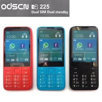 """ประเทศไทย ODSCN มือถือปุ่มกด Model C225 จอ 2.8"""" (สีฟ้า)"""