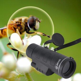 OH Day & Night Vision 40X60 HD Optical Monocular HuntingCamping Hiking Telescope Black